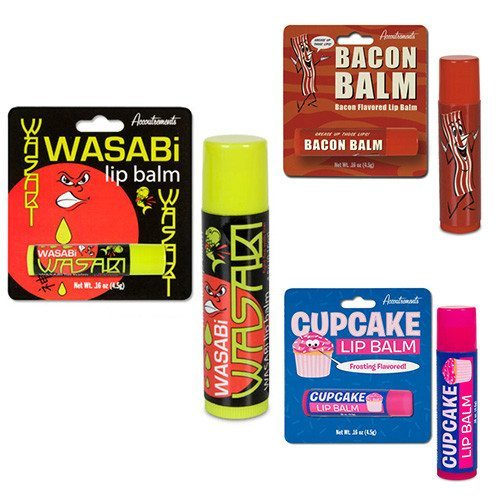 Süß bis herzhaft - Lippenpflege mit Geschmack