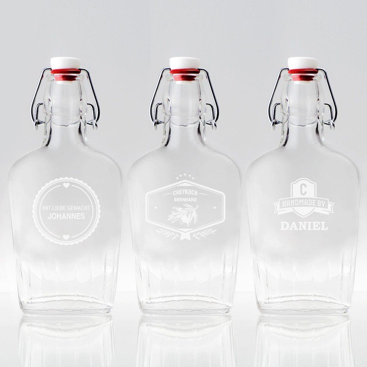 Botella de bolsillo personalizada 0.25l - Bebe con estilo propio
