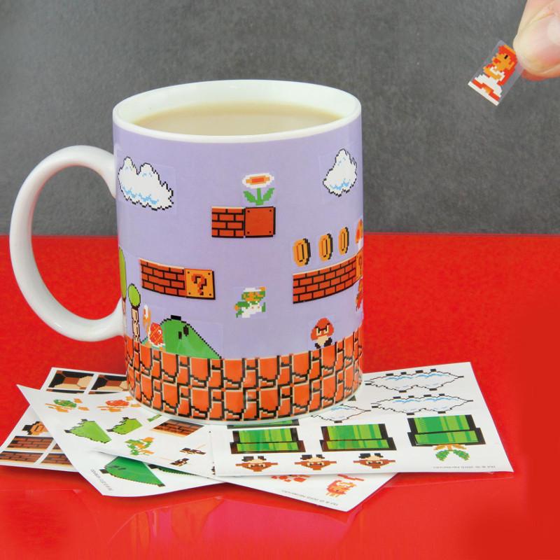 """Tasse """"Super Mario Bros."""" – Bau dir dein eigenes Level!"""