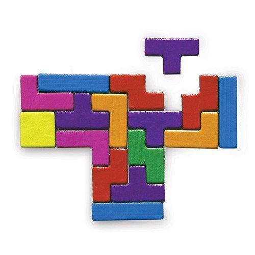 Imanes Tetris™ – decora tu nevera con miles de combinaciones
