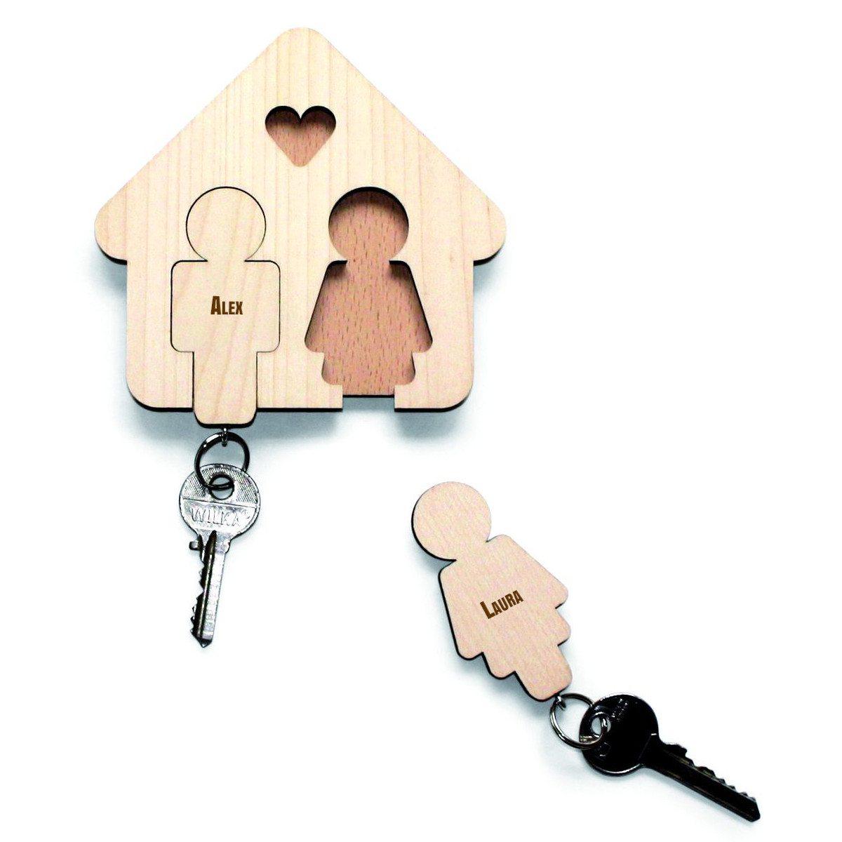 Trautes Heim - Schlüsselanhänger