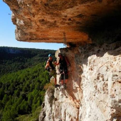 Vía Ferrata nivel avanzado en Trivissa para 2 o 4 - Tarragona