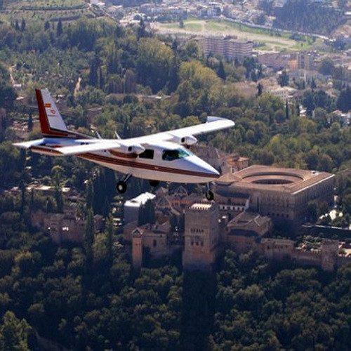 Vuelo en Avioneta sobre Granada Monumental