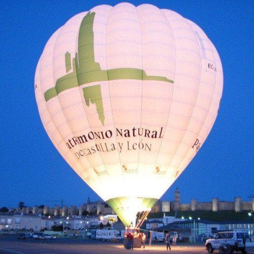 Vuelo en globo sobre Ávila