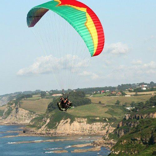 Vuelo por la costa - Asturias