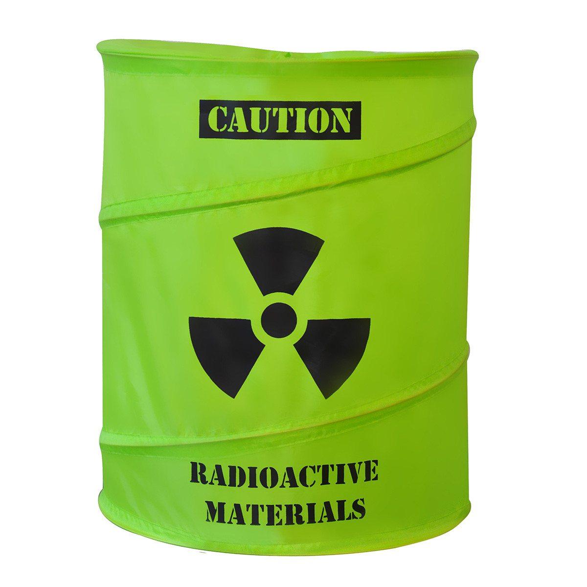 """Cesta para la ropa """"Radioactiva"""" – esconde bien toda la ropa sucia"""