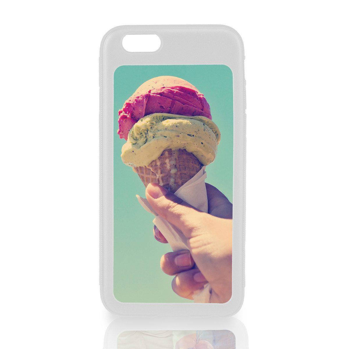 Funda blanca para iPhone 6 con impresión personalizada
