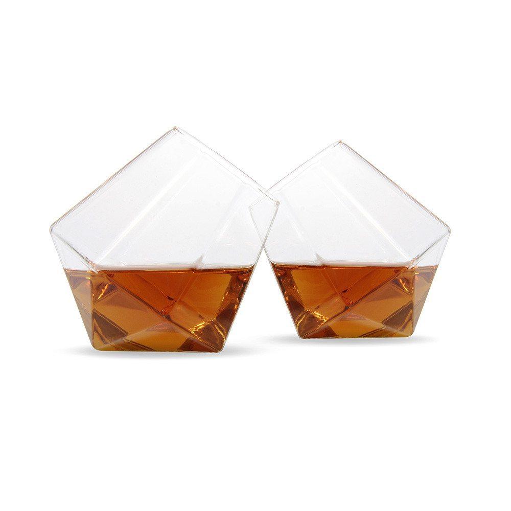 """Vasos de whisky """"Diamond"""" – el regalo más distinguido"""