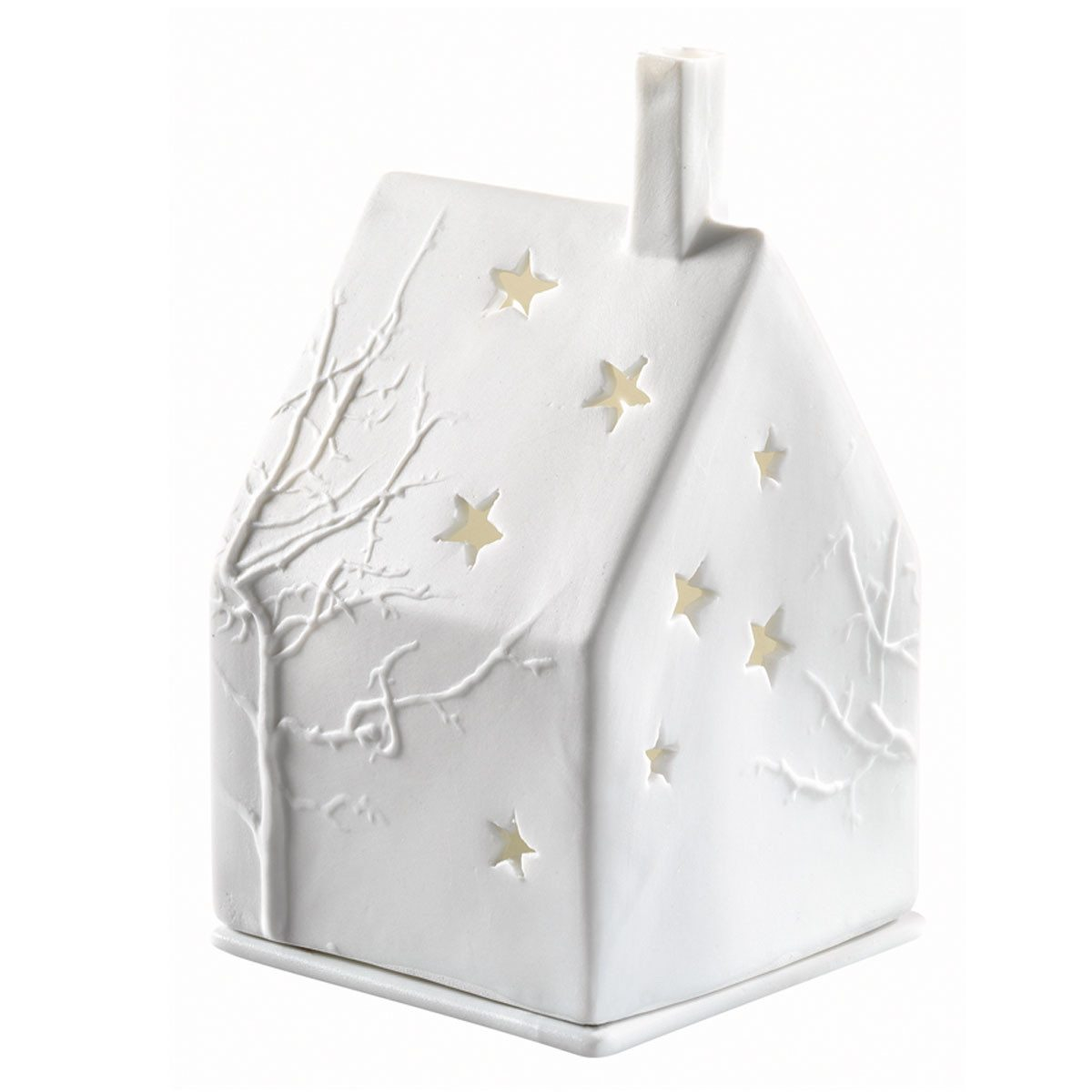 Casa de luces invernal  - Detalle navideño