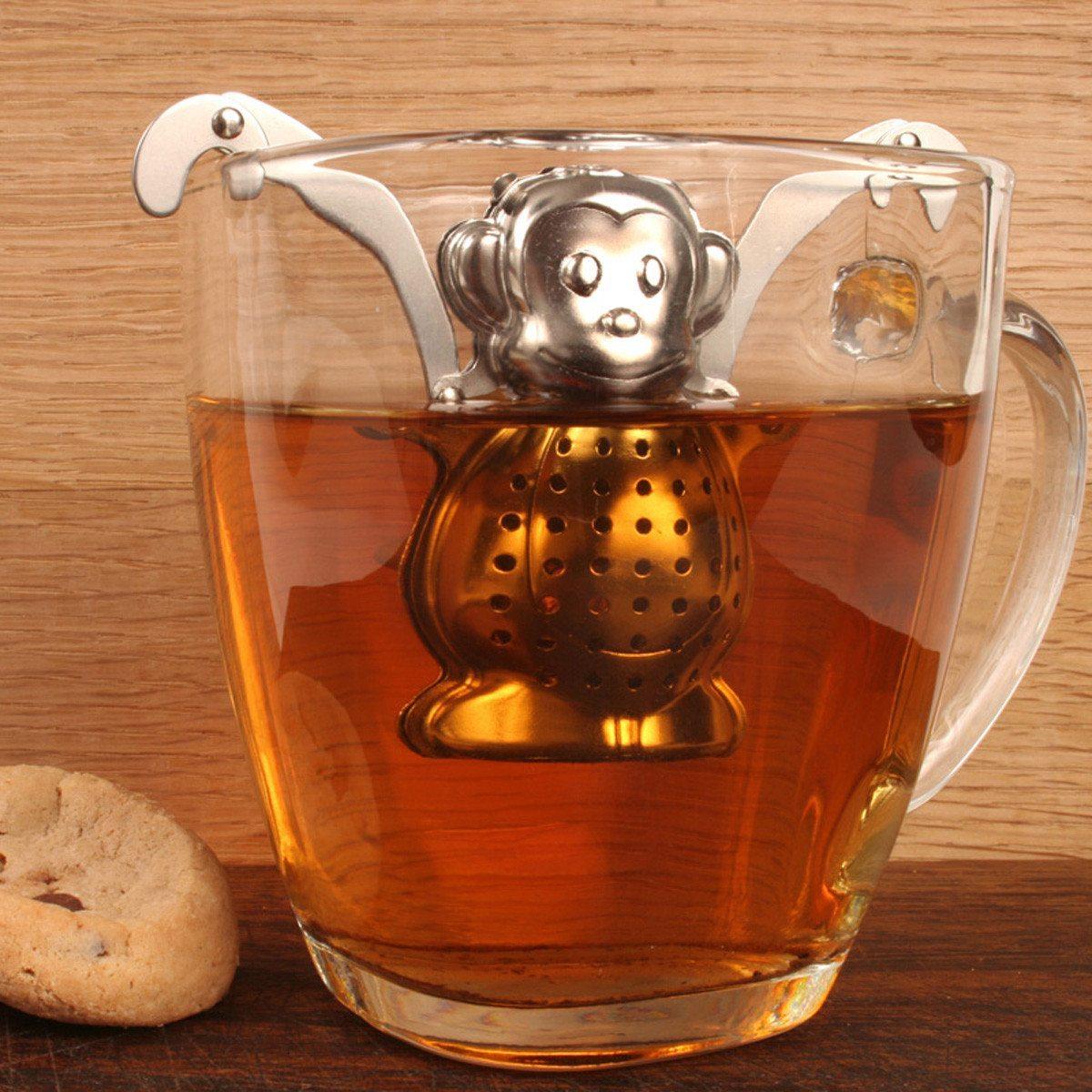 Colador de Té divertido - ¿Quién dijo que el té era aburrido?
