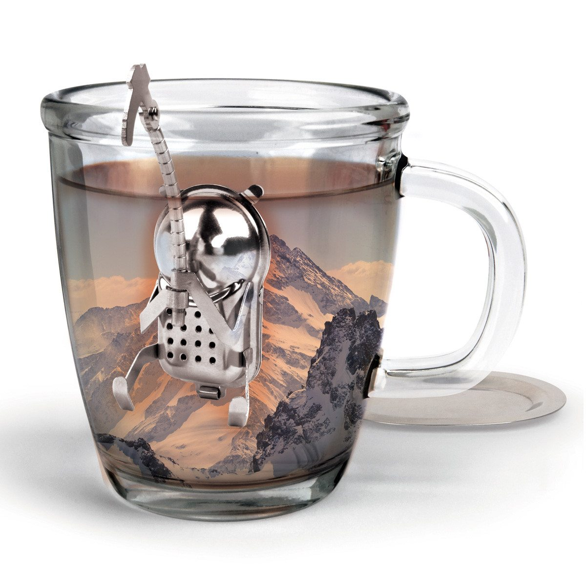 Colador de té divertido - Alpinista