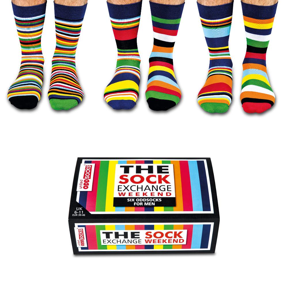 Gracioso pack de calcetines para individualistas