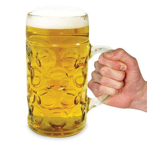 Jarra de cerveza XXL para bebedores de verdad