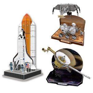 3D Space-Puzzle - Un regalo a la conquista del espacio