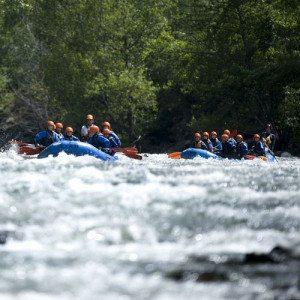 5 km descenso de Rafting en Familia - Lleida