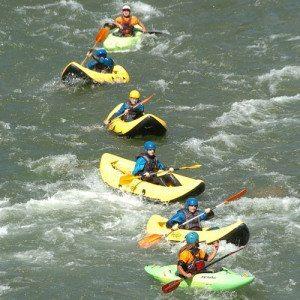 9 km descenso en Kayak en Illa - Lleida