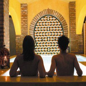 Baño árabe y Al-Hákam Chocolate - Granada