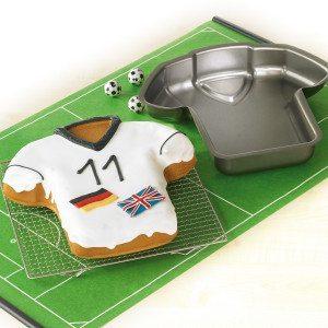Molde camiseta de fútbol – la tarta ideal para los más futboleros