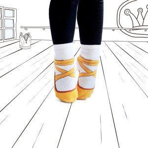Calcetines bailarina para las peques de la casa