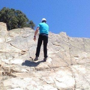 Bautismo de Escalada en Roca - Ávila