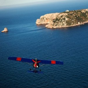 Bautizo de vuelo en Ultraligero por la Costa Brava - Gerona