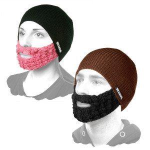 Gorro con barba Hipster- Conviértete en moderno por un día