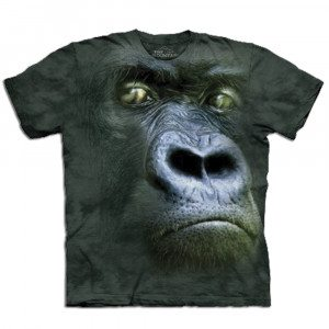 Big Face - Tier T-Shirts - Gorilla