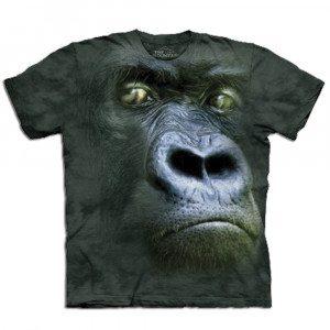 Camiseta Big Face 3D - Gorila