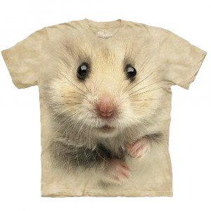 Camiseta Big Face 3D - Hamster