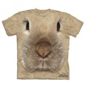 Camiseta Big Face 3D - Conejo