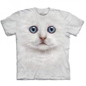 Big Face - Tier T-Shirts - Katze
