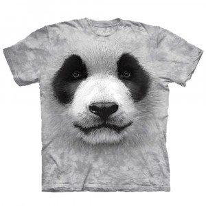 Camisetas de animal con cara impresa - Panda