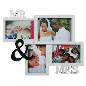 Marco de fotos MR & MRS para tus fotos de pareja