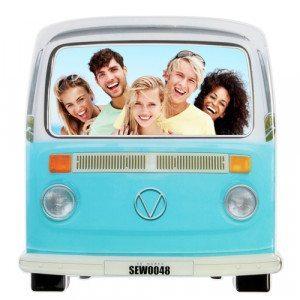 Campingbus - Bilderrahmen