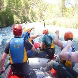 Canoa-Raft en el Rio Cabriel – Valencia