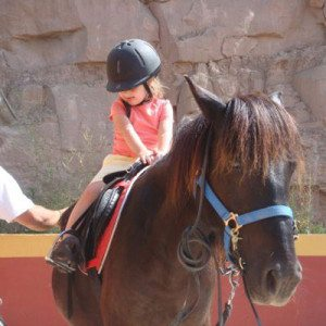 Clase de equitación para niños - Barcelona