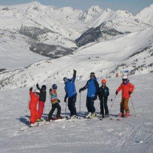 Clase de Esquí en pareja - Baqueira