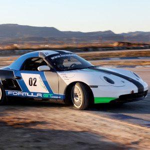 Conduce un Porsche Boxster en Monteblanco - Huelva