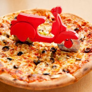 Pizza-Scooter - Para una pizza a la italiana