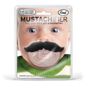 Chupete con bigote – lo más divertido para tu peque