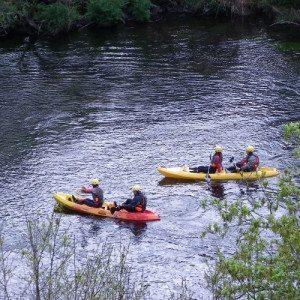 Descenso de río en Kayak - Pontevedra