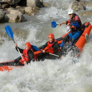Descenso en canoa por río - Lleida