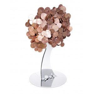 """Design-Münzhalter """"Baum"""""""