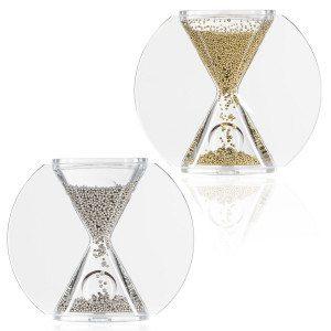 Reloj de arena elegante