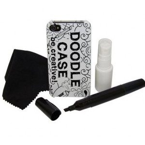 Doodle Case - La Carcasa de iPhone para creativos iPhone 4/ 4S