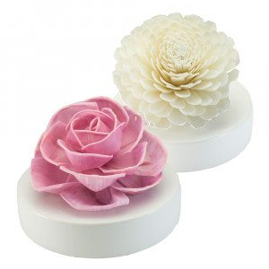 Ambientador XXL en forma de delicada flor - Agradable fragancia