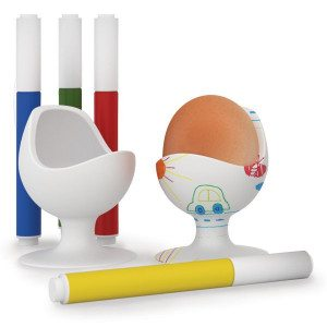 "Hueveras ""Eggchair""- conjunto creativo para decorar"