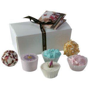 Eine kleine Schachtel voller Luxus - Bade-Geschenkset