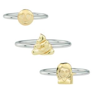 Anillo de plata con Emoji – el anillo que está de moda