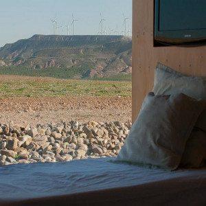 Escapada romántica en el desierto con cena especial - Navarra